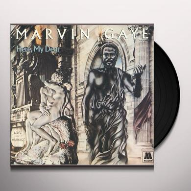 Marvin Gaye HERE MY DEAR Vinyl Record - 180 Gram Pressing