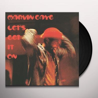 Marvin Gaye LET'S GET IT ON Vinyl Record - 180 Gram Pressing
