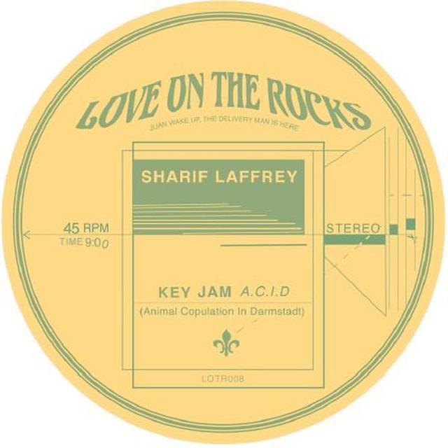Sharif Laffrey KEY JAM (A.C.I.D.) Vinyl Record
