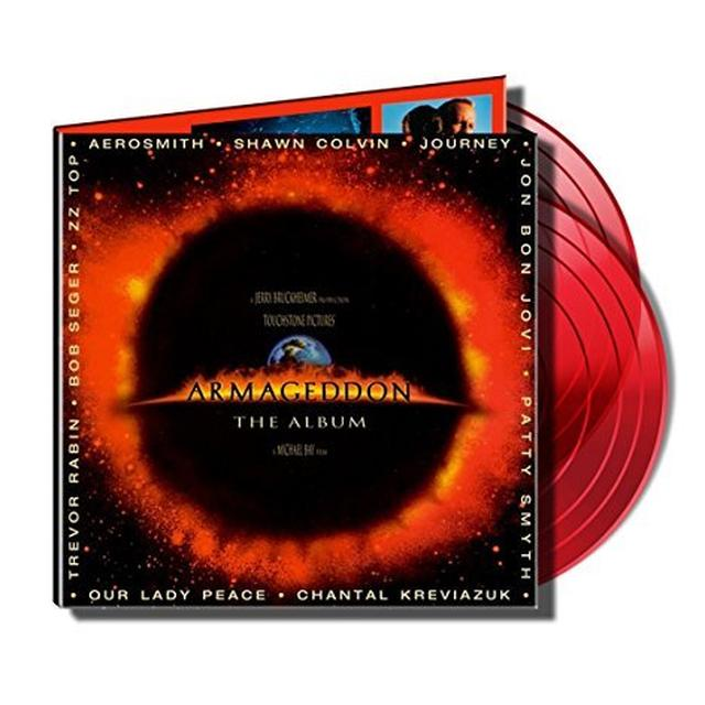 ARMAGEDDON: THE ALBUM / VARIOUS Vinyl Record