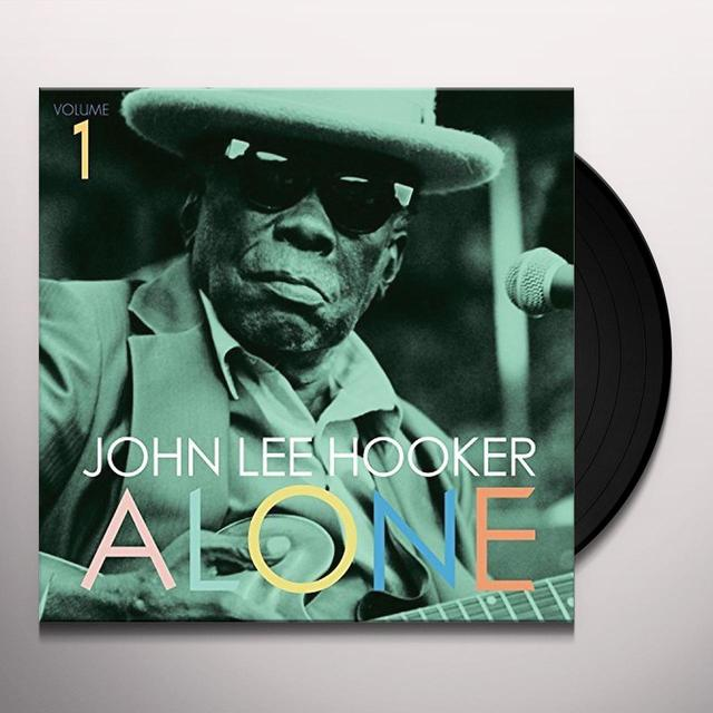 John Lee Hooker ALONE 1 Vinyl Record