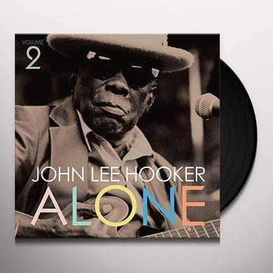 John Lee Hooker ALONE 2 Vinyl Record