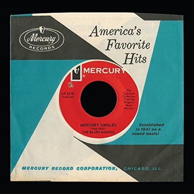 Blues Magoos MERCURY SINGLES (1966-1968) Vinyl Record