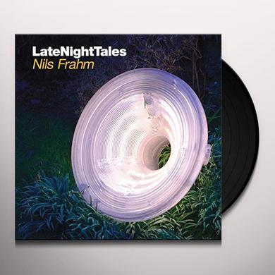 LATE NIGHT TALES: NILS FRAHM Vinyl Record - Black Vinyl, Gatefold Sleeve, 180 Gram Pressing