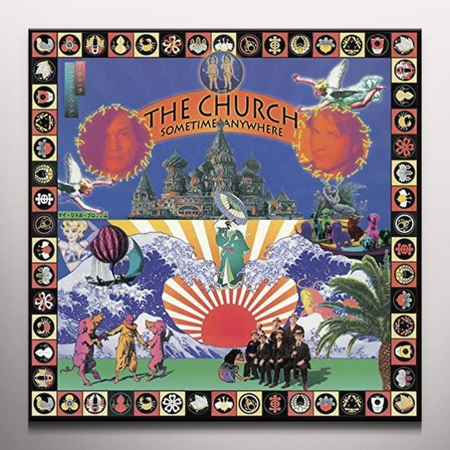 The Church SOMETIME ANYWHERE Vinyl Record - Colored Vinyl