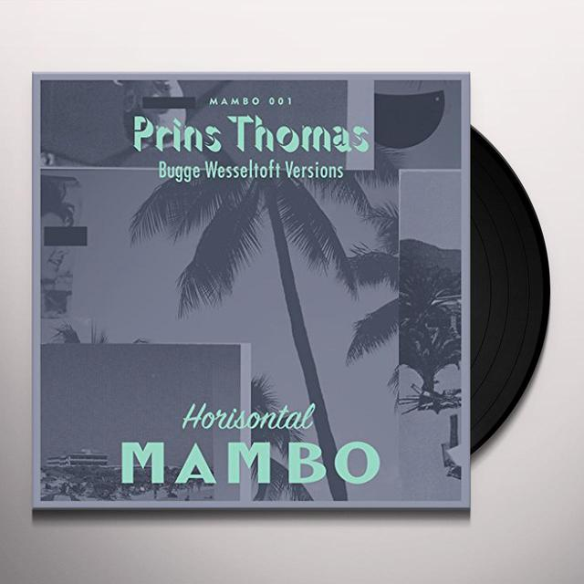 Prins Thomas BOBLETEKNO - BUGGE WESSELTOFT VERSIONS Vinyl Record