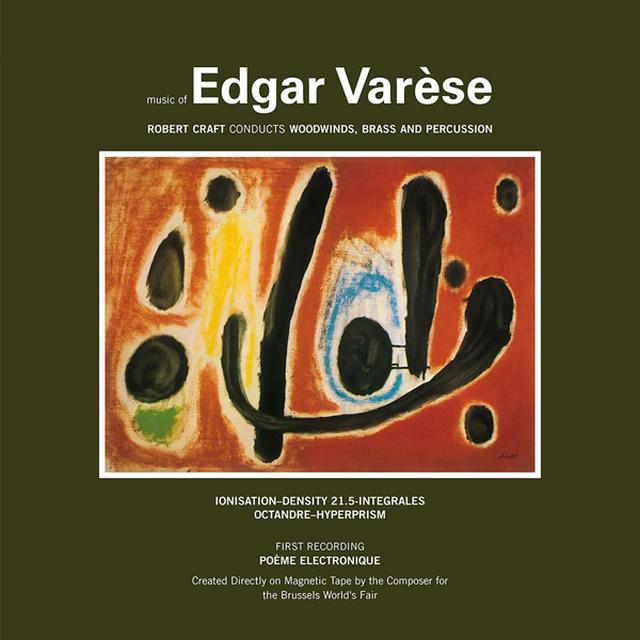Edgard Varese MUSIC OF EDGAR VARESE 1 Vinyl Record