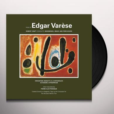 Edgard Varese MUSIC OF EDGAR VARESE 1 Vinyl Record