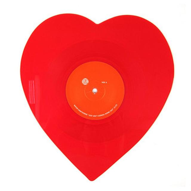 Mayer Hawthorne & The County JUST AIN'T GONNA WORK OUT (HEART SHAPED) Vinyl Record