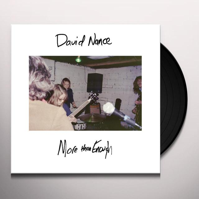 David Nance MORE THAN ENOUGH Vinyl Record