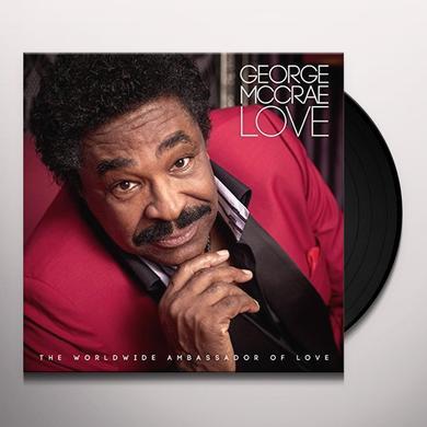 George Mccrae LOVE Vinyl Record