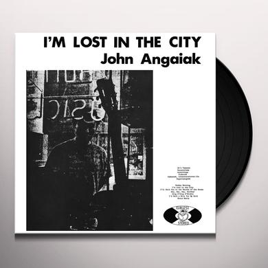 John Angaiak I'M LOST IN THE CITY Vinyl Record - Gatefold Sleeve, Remastered