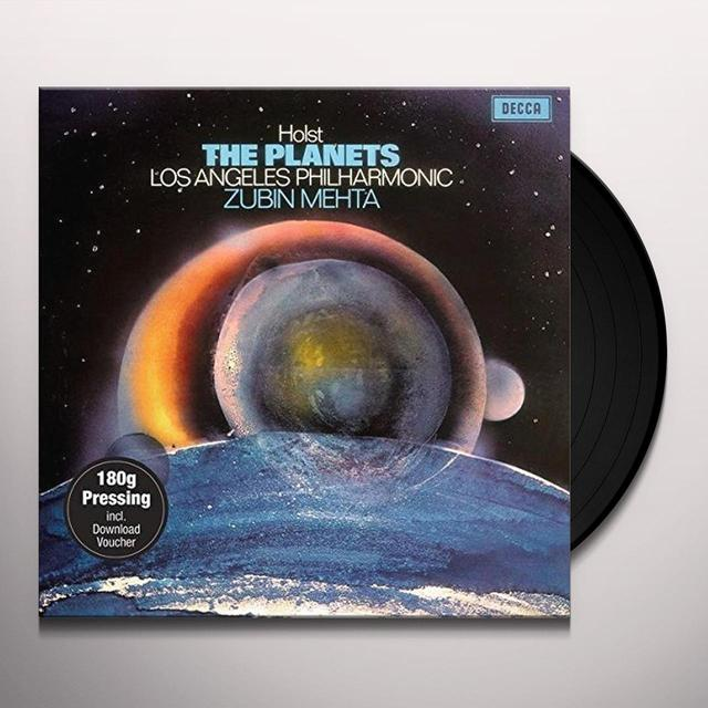 HOLST / MEHTA / LOS ANGELES PHILHARMONIC PLANETS Vinyl Record