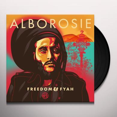 Alborosie FREEDOM & FYAH Vinyl Record