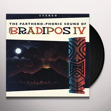 PARTHENO-PHONIC SOUND OF THE BRADIPOS FOUR Vinyl Record - Italy Import