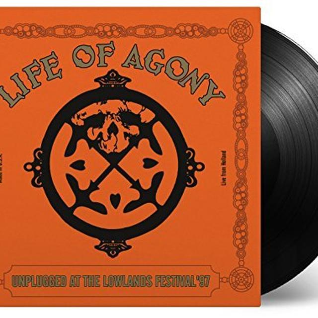 Life Of Agony UNPLUGGED AT LOWLANDS 97 Vinyl Record - Holland Import