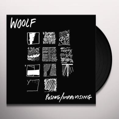 Woolf POSING / IMPROVISING Vinyl Record - UK Import