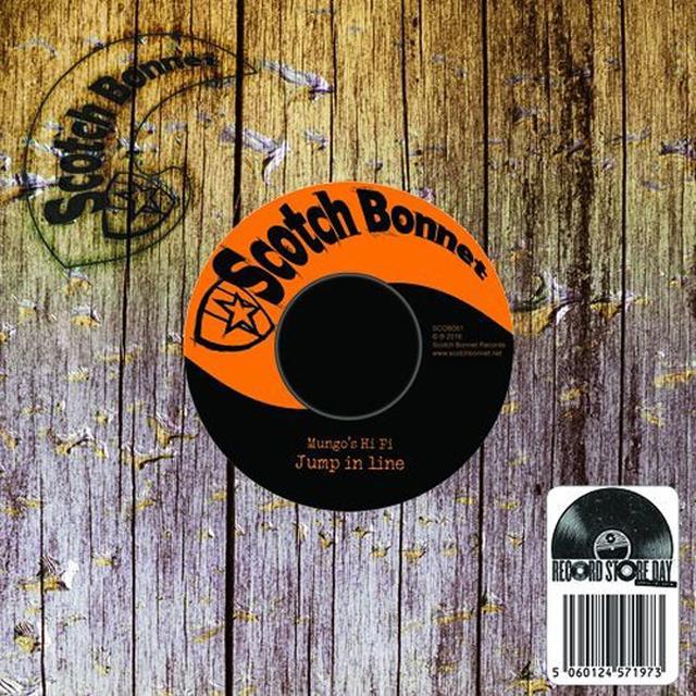 Mungo's Hi Fi JUMP IN LINE / SEND DI WATER Vinyl Record - UK Release