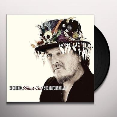 Zucchero BLACK CAT Vinyl Record - Italy Release