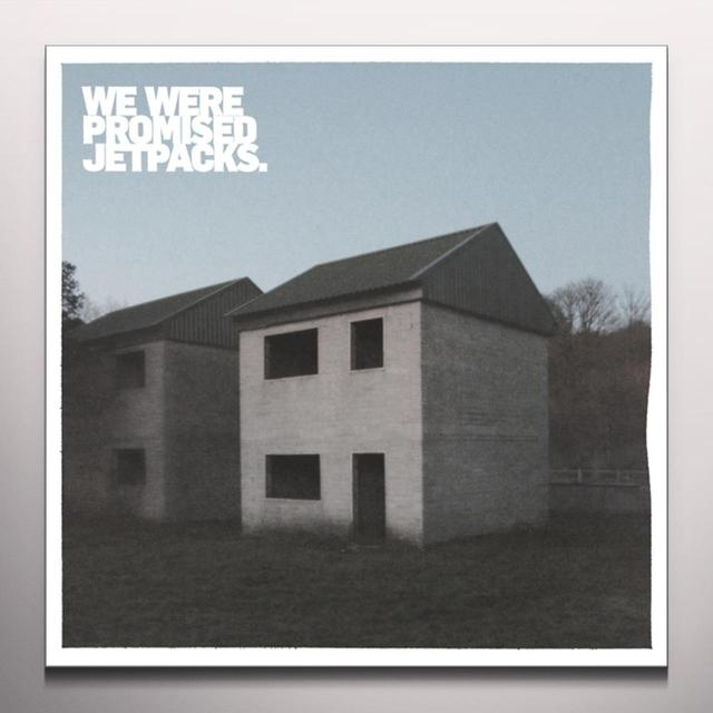 WE WERE PROMISED JETPACKS / THESE FOUR WALLS THESE FOUR WALLS Vinyl Record - Colored Vinyl, Gray Vinyl