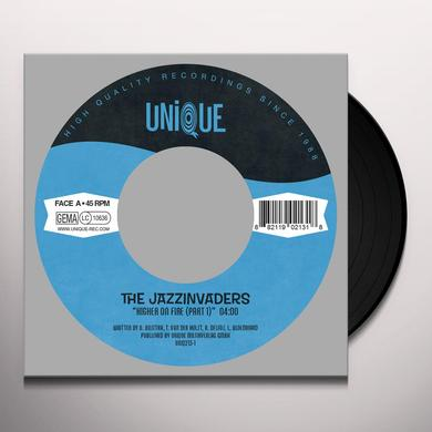 The Jazzinvaders HIGHER ON FIRE (PT. 1 & 2) Vinyl Record