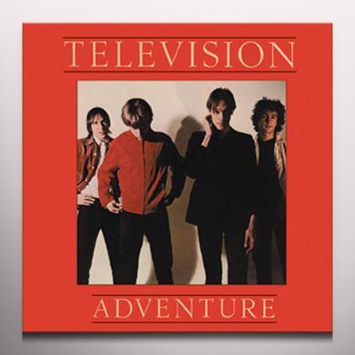 Television ADVENTURE Vinyl Record - Gold Vinyl