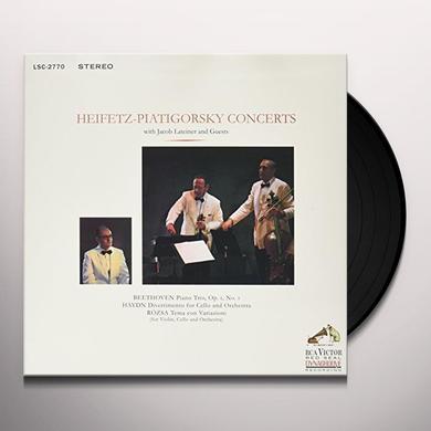Jascha Heifetz / Gregor Piatigorsky PIATIGORSKY Vinyl Record