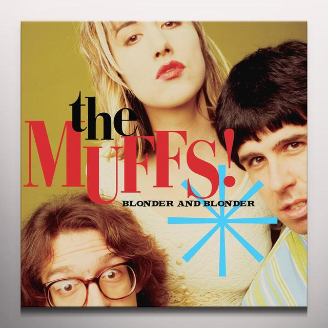 Muffs BLONDER & BLONDER Vinyl Record - Colored Vinyl