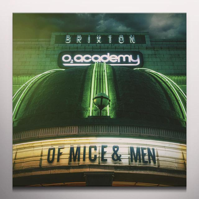 Of mice & men LIVE AT BRIXTON (BONUS DVD) Vinyl Record - Colored Vinyl