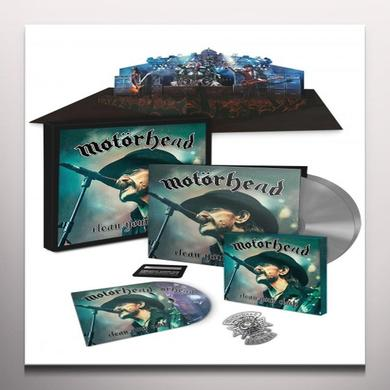 Motorhead CLEAN YOUR CLOCK  (W/DVD) Vinyl Record - w/CD, Colored Vinyl, Limited Edition, 180 Gram Pressing