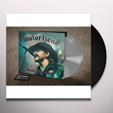 Motorhead CLEAN YOUR CLOCK Vinyl Record - 180 Gram Pressing, Digital Download Included