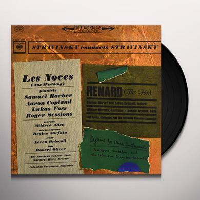 Igor Stravinsky LES NOCES Vinyl Record