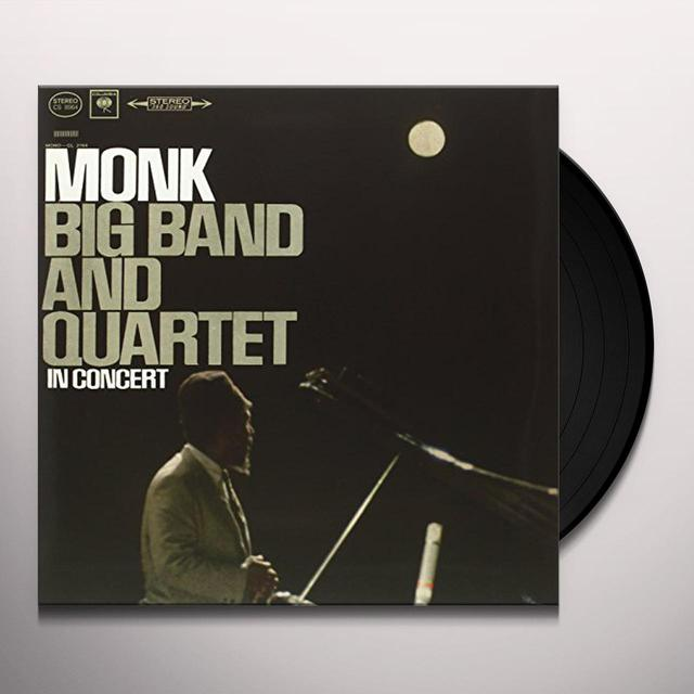 Thelonious Monk BIG BAND & QUARTET IN CONCERT Vinyl Record