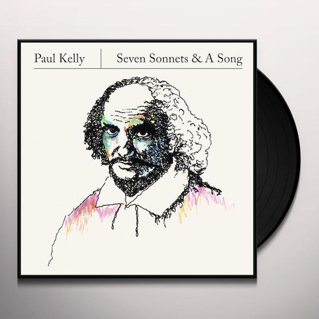 Paul Kelly SEVEN SONNETS & A SONG Vinyl Record - UK Import
