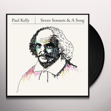 Paul Kelly SEVEN SONNETS & A SONG Vinyl Record - UK Import