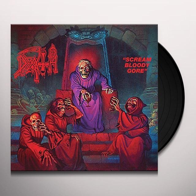 Death SCREAM BLOODY GORE Vinyl Record - UK Import