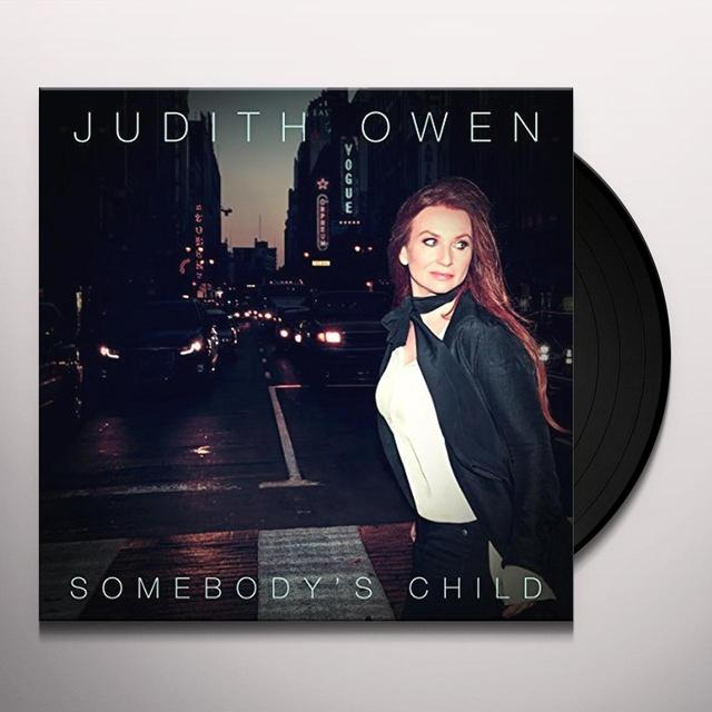 Judith Owen SOMEBODY'S CHILD Vinyl Record - UK Import