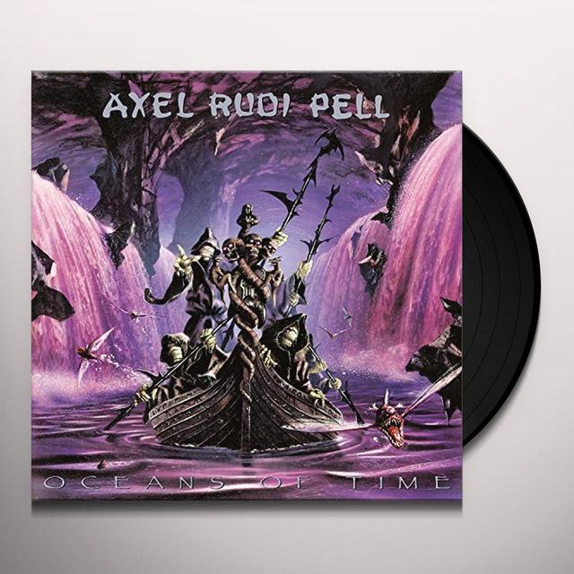 Axelrudi Pell OCEANS OF TIME Vinyl Record - w/CD, UK Release