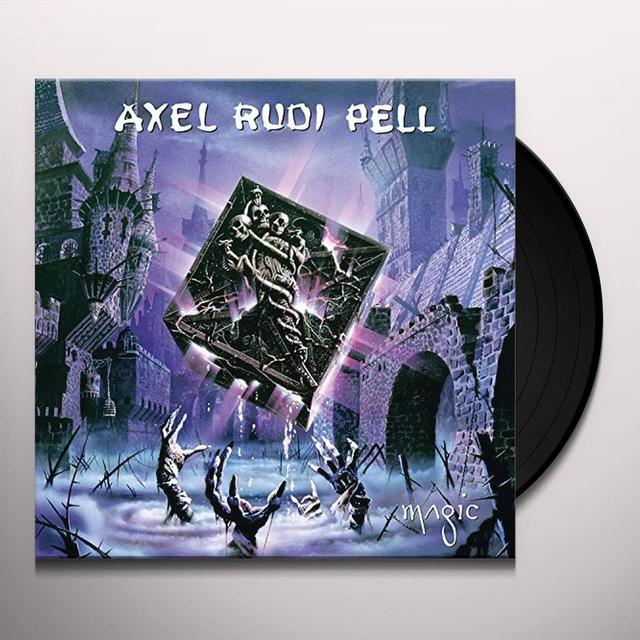 Axelrudi Pell MAGIC Vinyl Record - w/CD, UK Release