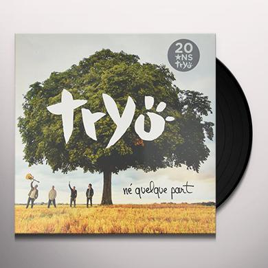 Tryo  NE QUELQUE PART Vinyl Record