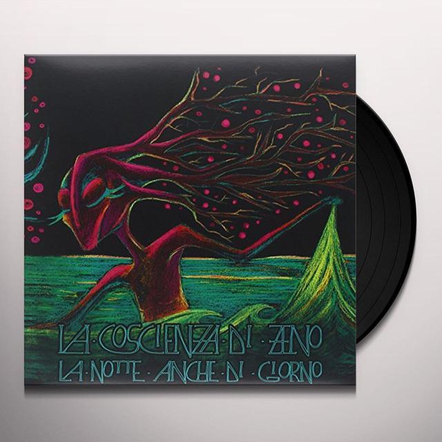 COSCIENZA DI ZENO LA NOTTE ANCHE DI GIORNO Vinyl Record - Italy Import