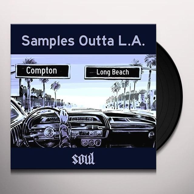 SAMPLES OUTTA L.A. SOUL / VARIOUS (UK) SAMPLES OUTTA L.A. SOUL / VARIOUS Vinyl Record - UK Import