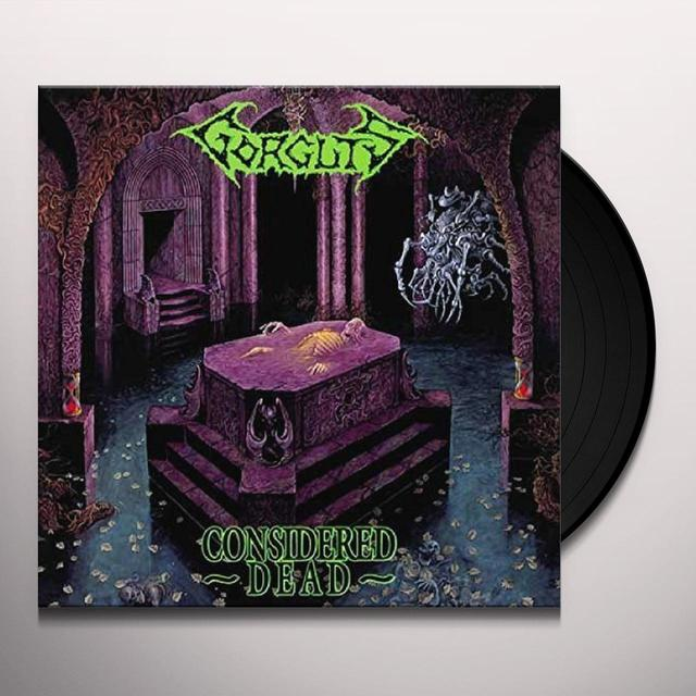 Gorguts CONSIDERED DEAD Vinyl Record - UK Import