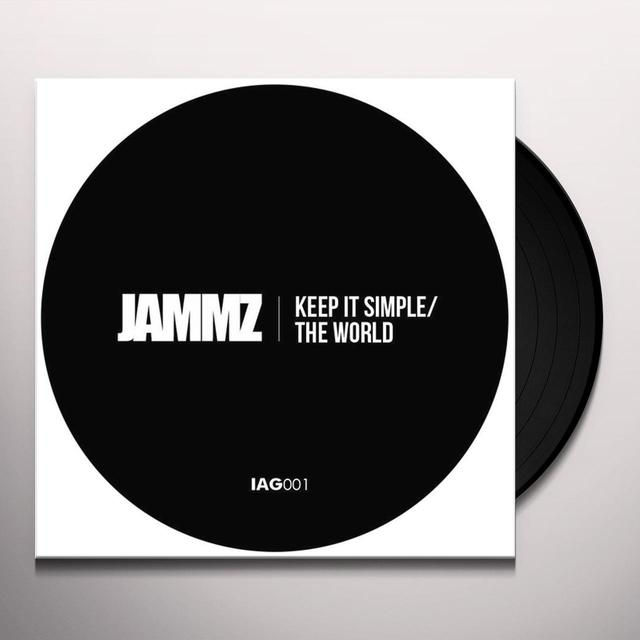 Jammz KEEP IT SIMPLE / WORLD Vinyl Record - UK Release