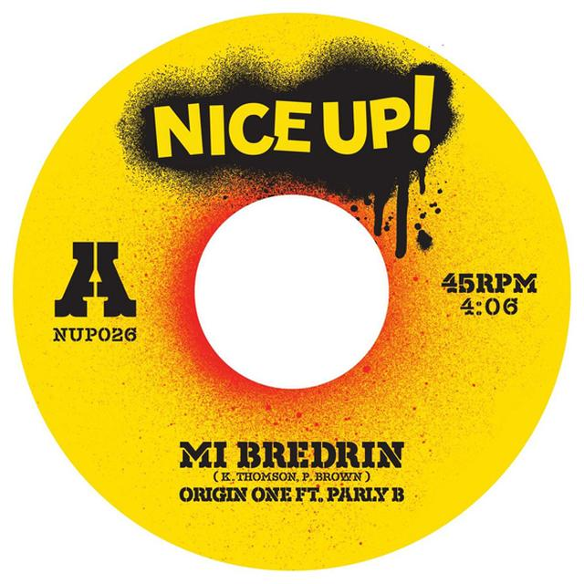 ORIGIN ONE / PARLY B MI BREDRIN Vinyl Record - UK Release