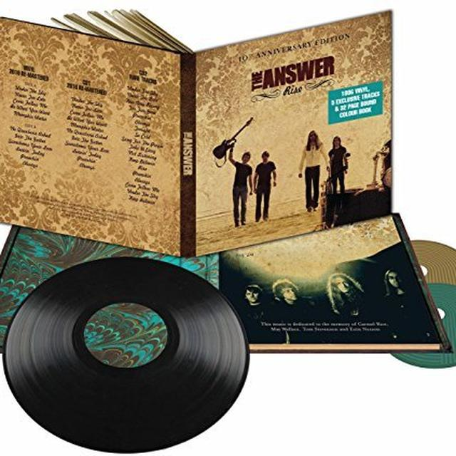 The Answer RISE (10TH ANNIVERSARY EDITION) Vinyl Record