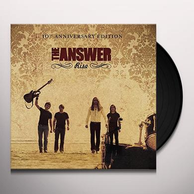 Answer RISE (10TH ANNIVERSARY EDITION) Vinyl Record - UK Import