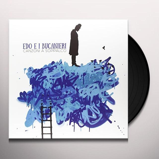 EDO E I BUCANIERI CANZONI A SOPPALCO Vinyl Record - Italy Import