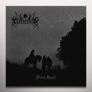 Gehenna FIRST SPELL (CRYSTAL VINYL) Vinyl Record - Colored Vinyl, UK Import