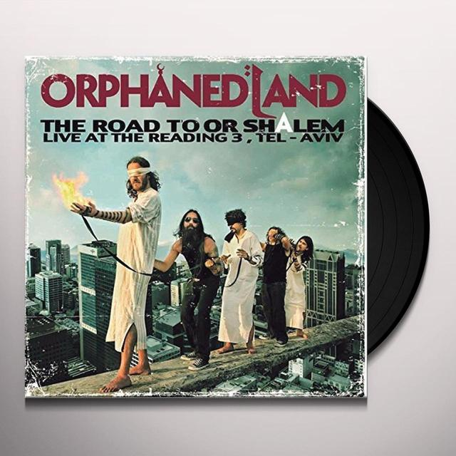 Orphaned Land ROAD TO OR-SHALEM: LIVE AT THE READING 3 TEL AVIV Vinyl Record